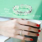 S925銀 銅錢造型 招財戒指-維多利亞170117