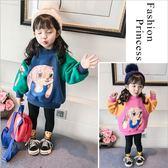 女童秋冬新款韓版中長款衛衣兒童加絨加厚女寶寶洋氣童裝潮衣 歡樂聖誕節