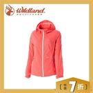 【Wildland 荒野 女款 RE運動型抗UV輕薄外套《蜜橘》】 0A51999/薄外套/抗UV/防曬外套