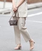 特價 女裝長褲 可成套 彷亞麻 錐形長褲 日本品牌【coen】