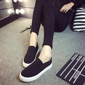 帆布鞋 小白鞋 新款百搭韓版休閒帆布鞋女學生平底鬆糕板鞋【快速出貨八五鉅惠】