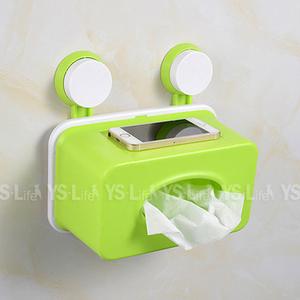 HONEY COMB PVC掛壁式面紙盒 GT-3355 綠色