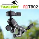 【R1TB02 球型雲台套組】R1 鉗式運動夾 + TB02 球型雲台 TAKEWAY GOPRO 攝影機 相機 屮S0