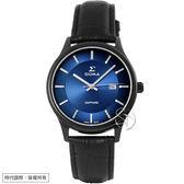 【台南 時代鐘錶 SIGMA】簡約時尚 藍寶石鏡面黑鋼男錶 1636M-B3 藍/黑鋼 39mm 平價實惠的好選擇
