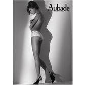 Aubade-BAHIA有機棉S-L平口褲(白)50經典
