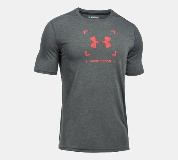 胖媛的店 男 UA Threadborne Target Logo T恤 1299163-090