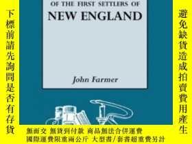 二手書博民逛書店A罕見Genealogical Register Of The First Settlers Of New Eng