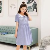 孕婦裝春裝上衣新款時尚款套裝中長款寬鬆短袖孕婦洋裝夏裝艾美時尚衣櫥