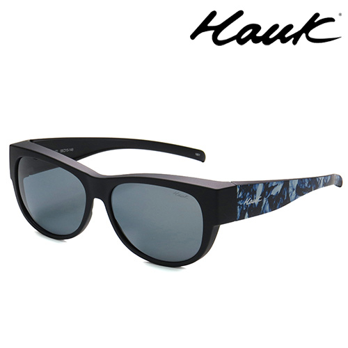 HAWK偏光太陽套鏡(眼鏡族專用)HK1006-72