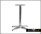 {{ 海中天休閒傢俱廣場 }} C-99 摩登時尚 餐桌腳系列 484-17 鋼管餐桌腳/電鍍腳