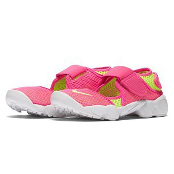 Nike RIFT BR 女鞋 休閒 忍者鞋 魔鬼氈 透氣 粉【運動世界】829973-631