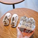 女童靴子春秋單靴2019秋季新款時尚水鑽兒童鞋公主短靴女寶寶皮靴