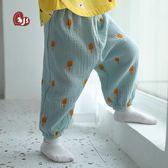 防蚊褲-寶寶防蚊褲夏季薄款男女童純棉縐布新提拉米蘇