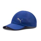 Puma Running 藍色 帽子 棒球帽 運動帽 網球帽 運動 慢跑 六分割帽 可調整式 運動帽 02232506