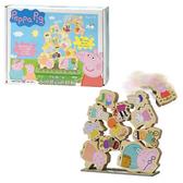 粉紅豬小妹-木頭堆高遊戲組