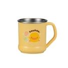 PiYo黃色小鴨-不鏽鋼隔熱大單耳杯220ml(630140)[衛立兒生活館]