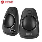 [哈GAME族]滿399免運費 可刷卡 KINYO 耐嘉 US-207 多媒體音箱 US207 立體聲音效 USB供電