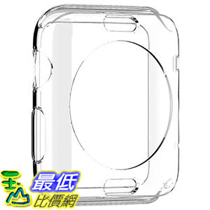[美國直購] Spigen SGP11495 透明 手錶殼 保護殼 Liquid Crystal Apple Watch Case for Apple Watch 42mm (2015)
