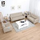 【多瓦娜】波波耐磨皮沙發/三件式沙發組合-四色-2220-1+2+3