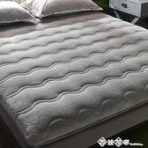 床墊0.9m*1.9m床褥子墊被加厚家用榻榻米墊子季保暖法蘭絨海綿墊 西城故事