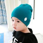 寶寶帽子嬰兒柔軟套頭帽男女童保暖帽【極有家】