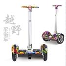 車雙輪兒童成人代步車思維帶扶杆平衡車tw 【降價兩天】