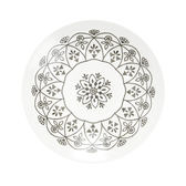 日本摩洛哥盤24cm 白