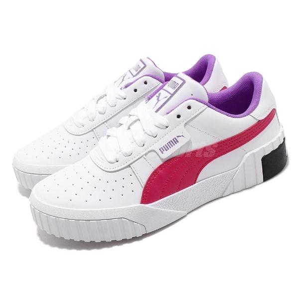 Puma 休閒鞋 Cali Chase Wns 白 粉紅 女鞋 運動鞋 【ACS】 36997002