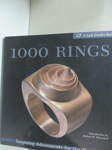【書寶二手書T1/藝術_EA9】1000 rings-inspiring adornments for the hand_Le Van