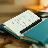 洛林原創 復古便攜款旅行記事本隨身手帳日記本三折筆記本定頁本 挪威森林