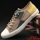 男鞋新款男士帆布鞋車休閑老北京布鞋透氣板鞋【西語99】