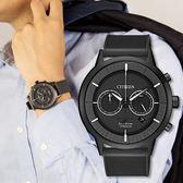 【滿額贈電影票】CITIZEN 黑色耀動鈦金屬光動能時尚男錶 CA4405-17H 熱賣中!