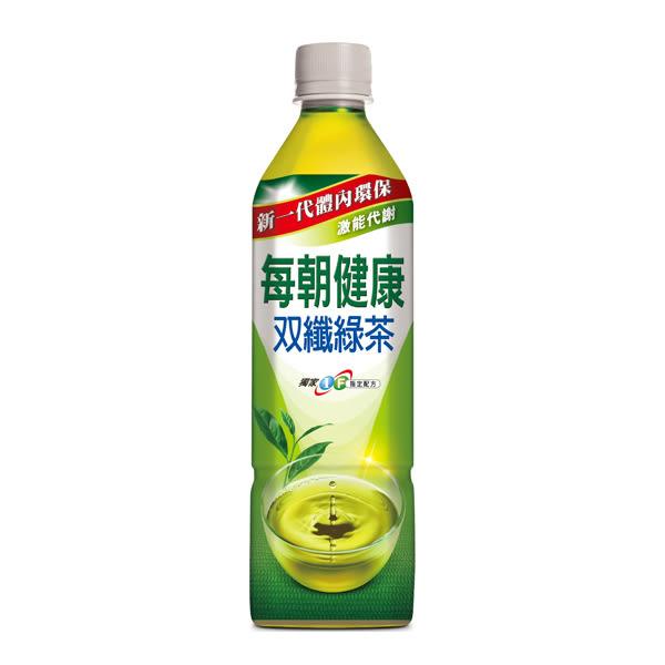 每朝健康 雙纖綠茶 650ML【屈臣氏】