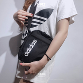 IMPACT Adidas Linear Core Organizer Bag 腰包 黑白 側背包 字體 DT4822