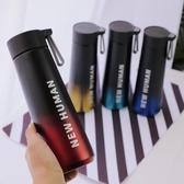 韩版创意保温杯男潮流ins大容量学生个性简约便携304不锈钢水杯子