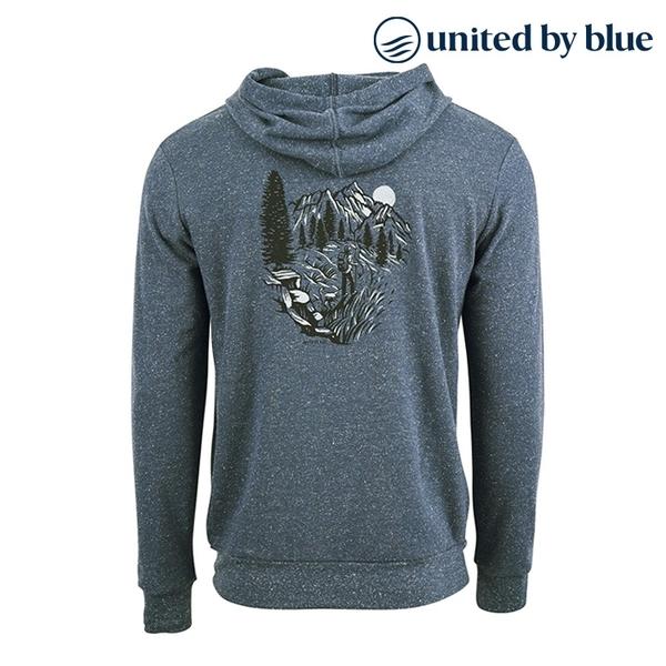 United by Blue 男起球長袖連帽上衣 101-095 Passing Through Hoodie / 城市綠洲 (有機棉、環保、帽T)