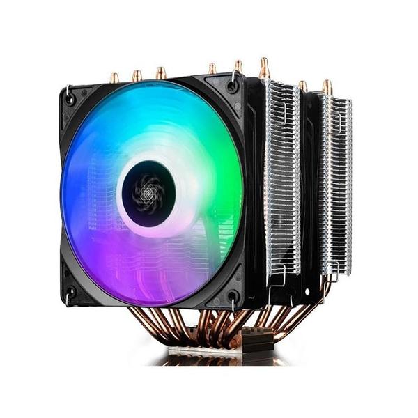 散熱器 九州風神 大霜塔 RGB台式 CPU散熱器 風扇i5 i7全銅6熱管 雙風扇AQ 有緣生活館