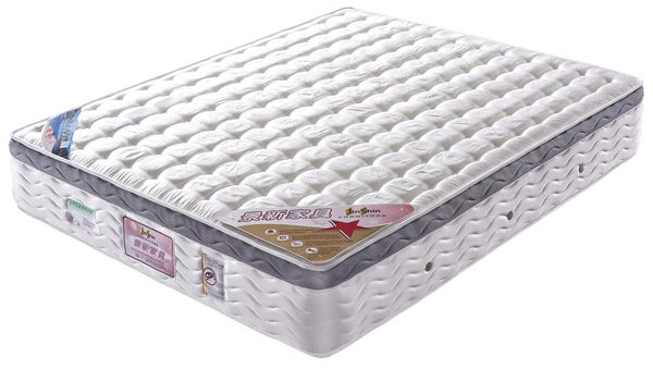 【森可家居】5x6.2尺三線環保天然水冷膠床墊 7JX90-2
