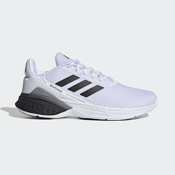 Adidas Response SR 男鞋 黑白 慢跑鞋 Neo FX3626
