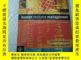 二手書博民逛書店human罕見resource management : cha