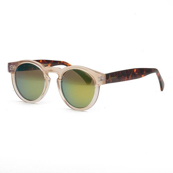 KOMONO 太陽眼鏡 Clement 克萊蒙系列-透明琥珀