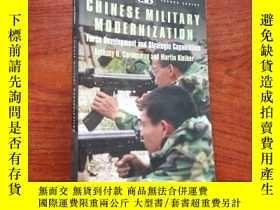 二手書博民逛書店Chinese罕見Military Modernization: Force Development and St