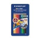 《享亮商城》MS14410M12 12色水性色鉛筆(鐵盒) 施得樓