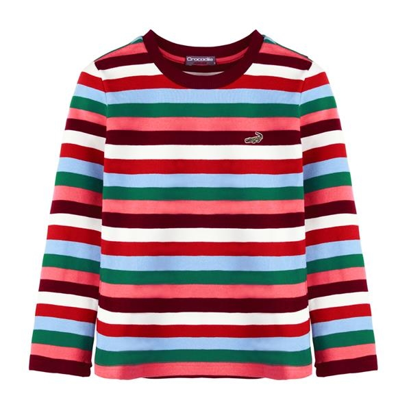 『小鱷魚童裝』條紋T恤(08號~18號)532461