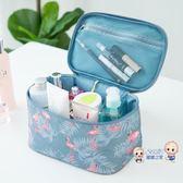 化妝包 網紅化妝包女便攜韓國簡約大容量化妝袋箱少女心洗漱品收納盒 多色