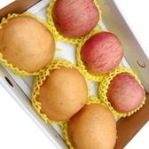 【新鮮水果】台灣大顆高梨x3顆+日本蘋果x3顆(禮盒)