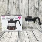 HARIO V60好握黑色咖啡壺 玻璃壺 咖啡壺 沖泡壺