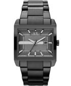 A│X Armani ExChange 都會方型腕錶-IP黑/47mm AX2202