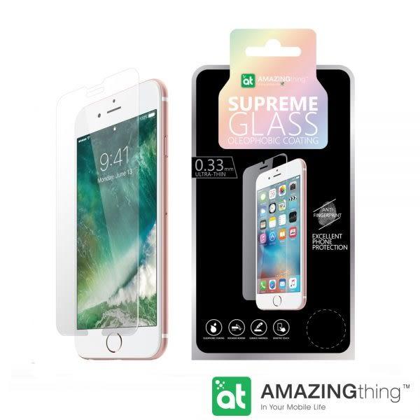 AmazingThing Apple iPhone 7/8 Plus 透明強化玻璃保護貼