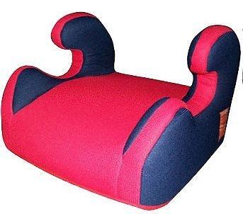 SUPER NANNY 超級奶媽-兒童安全汽座 增高座墊 / 輔助墊 (橘黑/紅藍兩色隨機) 安全座墊